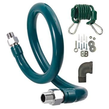 Krowne Metal Metal M12560K7 Royal Series Moveable Gas Connection Kit