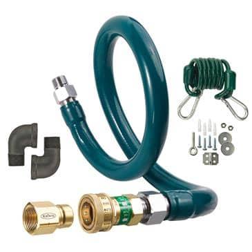 Krowne Metal Metal M12572K3 Royal Series Moveable Gas Connection Kit