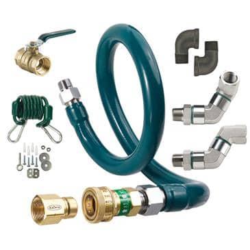 Krowne Metal Metal M5060K10 Royal Series Moveable Gas Connection Kit