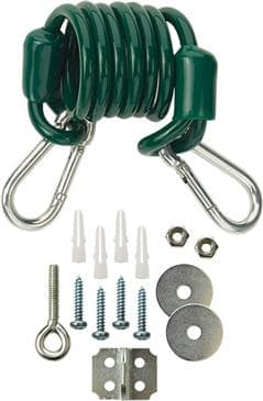 Krowne Metal Metal R60 Restraining cable and mounting hardware