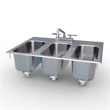 LaCrosse Cooler CS3DI Concession Drop-In Sink