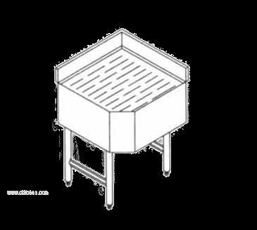 LaCrosse Cooler SDDC90 Sinkronization 19 Underbar Full Corner Drainboard