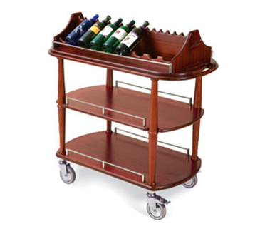 Lakeside Manufacturing Manufacturing 70516 Wine Cart-Spice