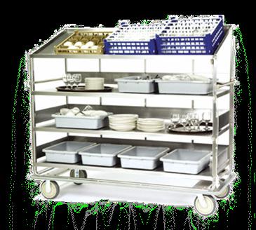 Lakeside Manufacturing Manufacturing B589 Soiled Dish Breakdown Cart