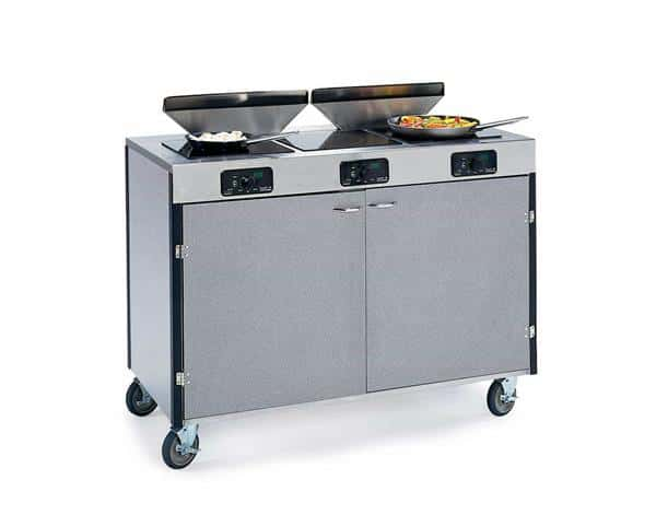 "Lakeside Manufacturing Manufacturing 2085 Creation Express"" Station Mobile Cooking Cart"