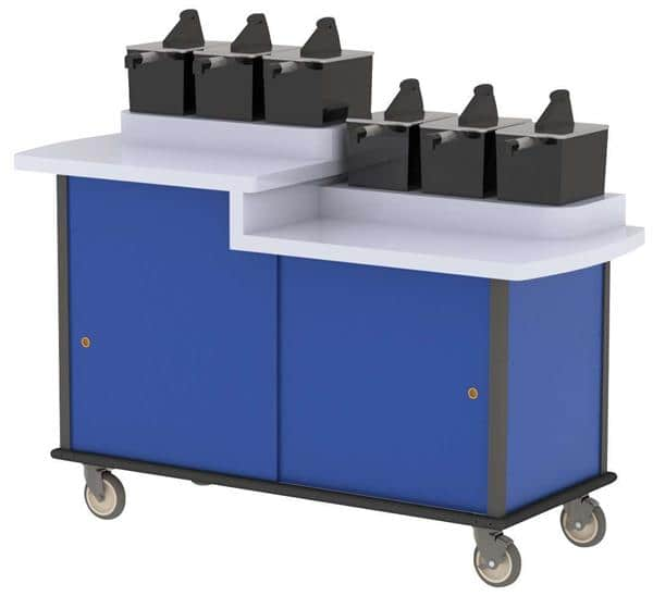 Lakeside Manufacturing Manufacturing 70550 Condi-Express Condiment Cart