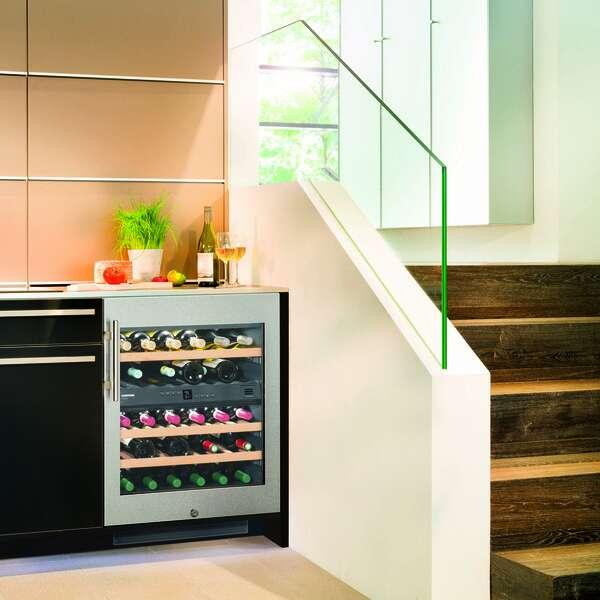 Liebherr USA, Co. WU-3400 Undercounter Dual Zone Wine Refrigerator