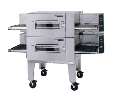 "Lincoln Impinger 1600-FB2E Lincoln Impinger Low Profile"" Conveyor Pizza Oven"