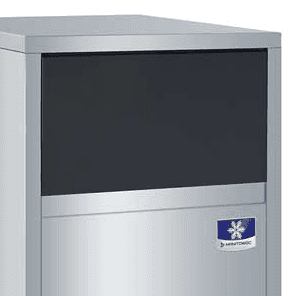 """Manitowoc UFF0200A 19.69"""" Flake Ice Maker With Bin, Flake-Style - 200-300 lbs/24 Hr Ice Production, Air-Cooled, 115 Volts"""