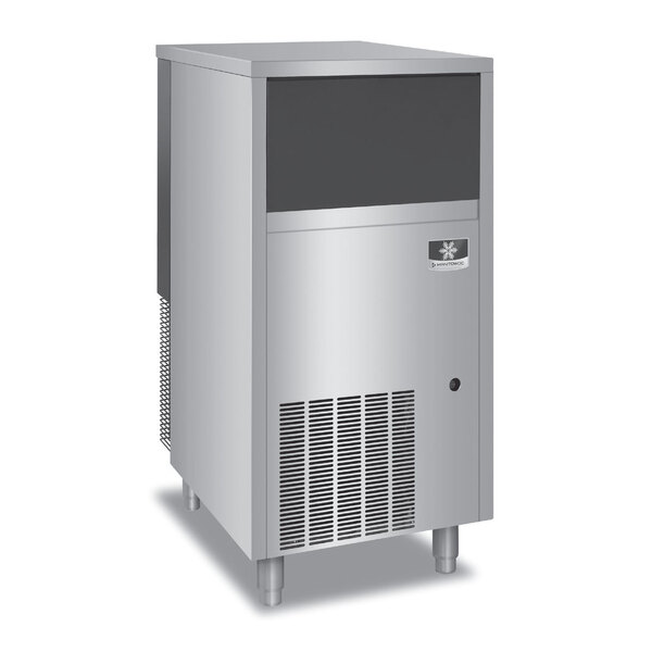 "Manitowoc UFF0200A 19.69"" Flake Ice Maker With Bin, Flake-Style - 200-300 lbs/24 Hr Ice Production, Air-Cooled, 115 Volts"