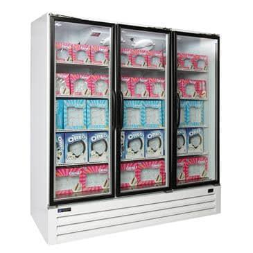 Master-Bilt Products BLG-74-HGP Full-Height Freezer Merchandiser