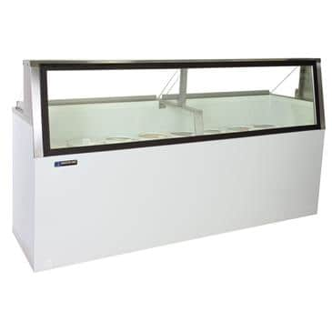 Master-Bilt Products DD-88L Ice Cream Dipping/Display Cabinet