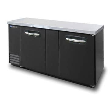 Master-Bilt Products MBBB69 Fusion� Refrigerated Back Bar Refrigerator