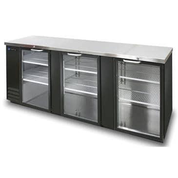 Master-Bilt Products MBBB95-G Fusion� Refrigerated Back Bar Refrigerator