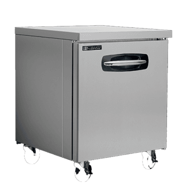 Master-Bilt Products MBUF27A-013 Fusion� Undercounter Freezer with 6 legs in lieu