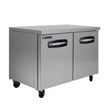 """Master-Bilt Products MBUF48A-014 Fusion Undercounter Freezer with 4"""" casters in"""