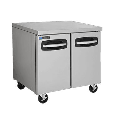 """Master-Bilt Products MBUR36A-014 Fusion Undercounter Refrigerator with 4"""" casters"""