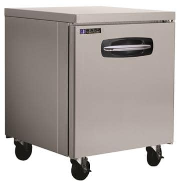 "Master-Bilt Products MBUR27A-014 Fusion Undercounter Refrigerator with 4"" casters"