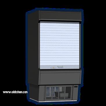 Master-Bilt Products VOAM36-72C Vertical Open Air Refrigerated Merchandiser