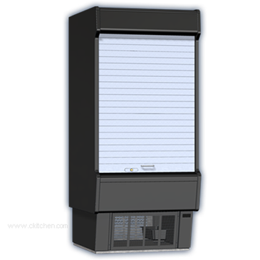 Master-Bilt Products VOAM72-79CR Vertical Open Air Refrigerated Merchandiser