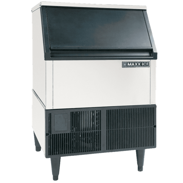 "Maxx Cold Maxximum MIM265H 24.00"" Half-Dice Ice Maker With Bin, Cube-Style - 200-300 lbs/24 Hr Ice Production, Air-Cooled, 120 Volts"