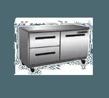 "Maxx Cold MXCR48U-DL X-Series 48"" Undercounter Refrigerator"