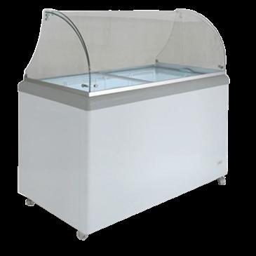 Attirant Maxx Cold MXDC 8 X Series Ice Cream Dipping Cabinet