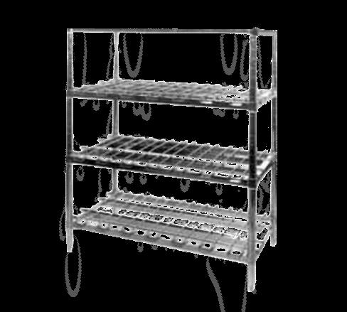 Metro 1848HDRK3 HD Super™ Dunnage Shelf