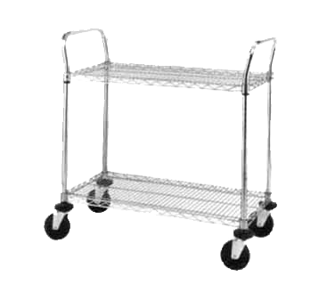 Metro 2SPN33ABR SP Heavy Duty Utility Cart