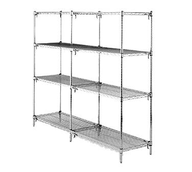 Metro AA346C Super Adjustable Super Erecta® Add-On Shelving