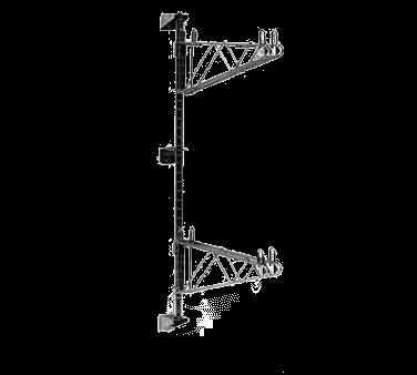 Metro AW33C Super Erecta® Wall Mounts