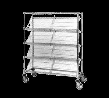 Metro DC55EC Slanted-Shelf Merchandiser/Dispenser Rack (4)