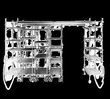Metro FPS16N High-Density Top-Track Floor Pad Protectors