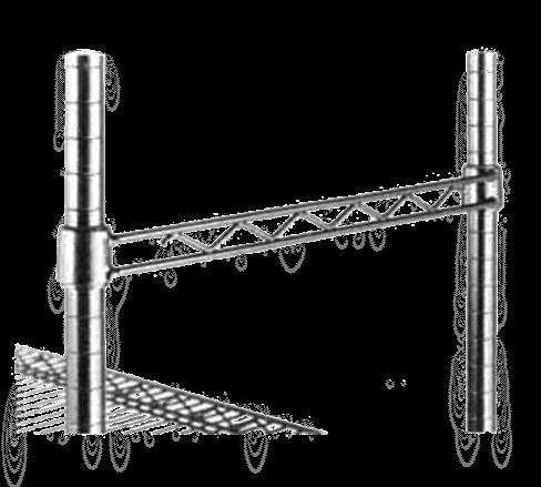 Metro H124-D Super Erecta® Hanger Rail