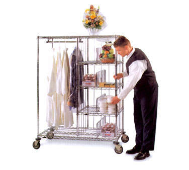 Metro HVDC2448 Valet/Laundry/Delivery Cart