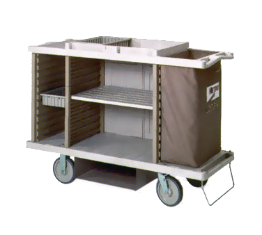 Metro LXHK3-PLUS Lodgix™ Plus Housekeeping Cart