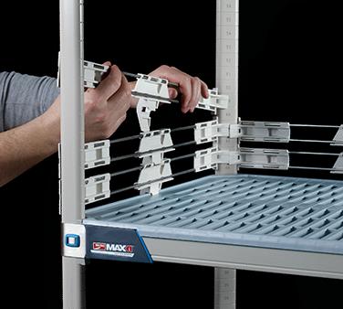 Metro MXL72-2S MetroMax i® Stackable Shelf Ledge