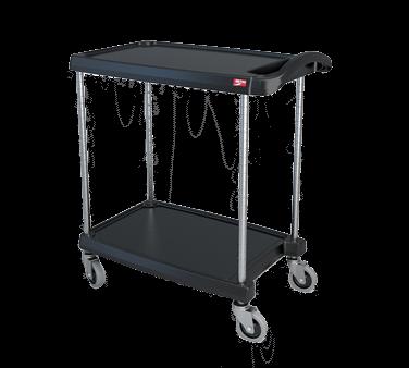Metro MY1627-24BL myCart™ Series Utility Cart
