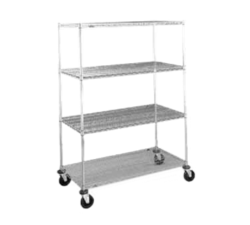 Metro N336ABR Super Erecta® Stem Caster Cart