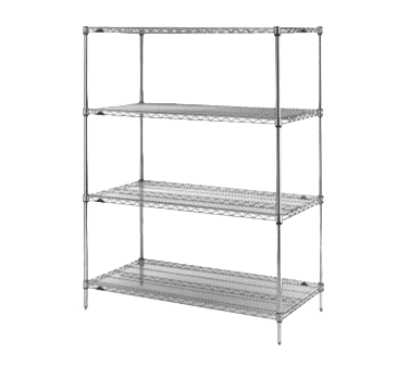 Metro N476C Super Erecta® Starter Shelving Unit