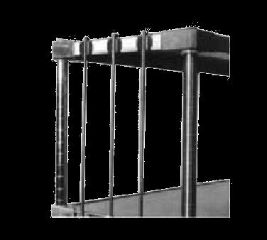 Metro R84FC Super Erecta® Rod & Tabs