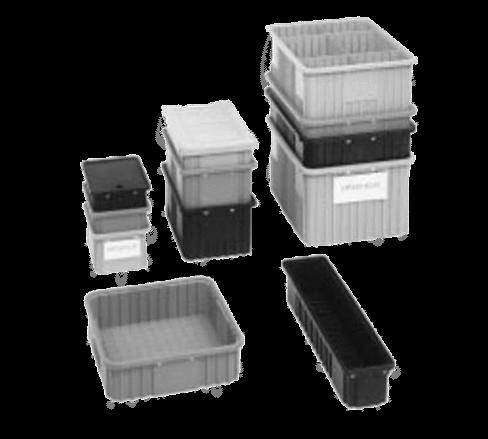 Metro TB92060NAT Divider Tote Box