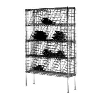 Metro WB257C Super Erecta® Bulk Storage Wine Shelving