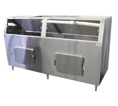 MGR Equipment S-1500-SS Ice Bin