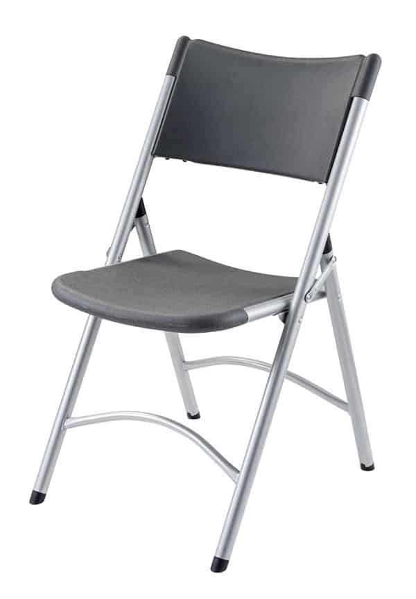 National Public Seating 620 600 Series Blow Molded Folding Chair