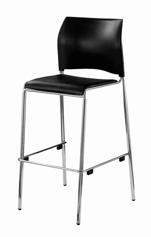 National Public Seating 8710B-11-10 8700 Series Bar Stool - Padded Seat