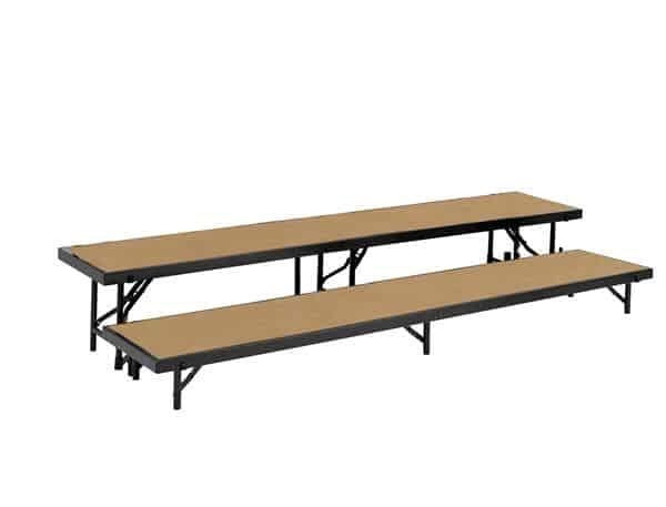 National Public Seating RS2LHB 2 Level Riser