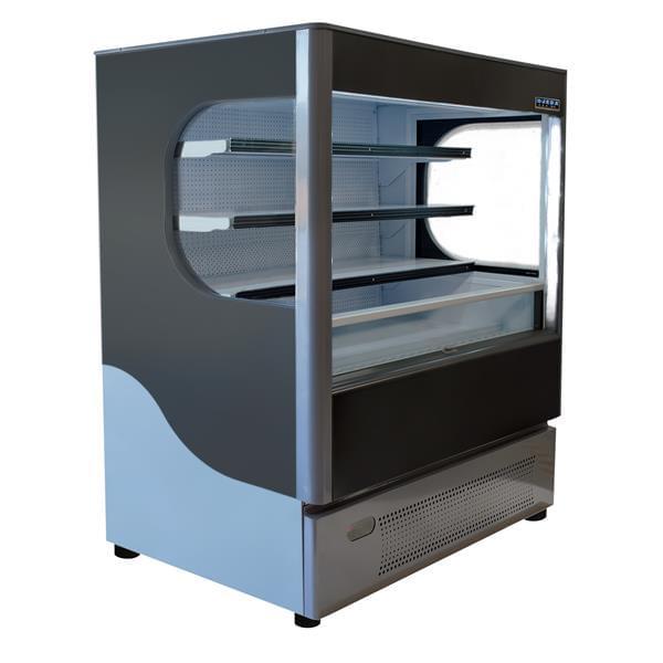 Ojeda ALPA 99 51.50'' Air Curtain Open Display Merchandiser with