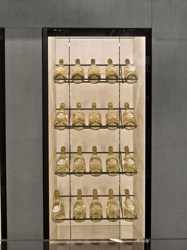 Oscartek MURO GALA W830 Muro Gala Modular Wine refrigerated wall cabinet