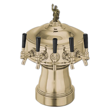 Perlick Corporation Corporation 4005-5BTFLG Gambrinus Draft Beer Tower